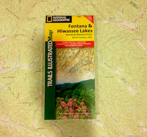 National Geographic Trails illustrated Map - Fontana & Hiwassee Lakes (784)