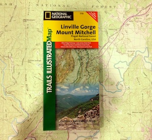 National Geographic Trails illustrated Map - Linville Gorge/Mount Mitchell (779)