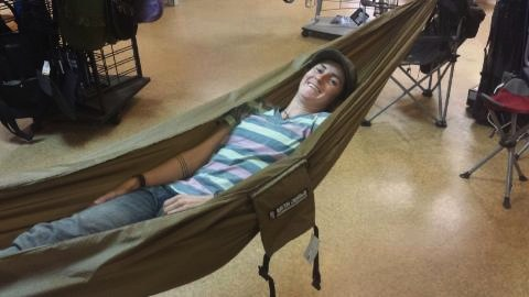 Treehugger Single Hammock by RAVEN DESIGNS